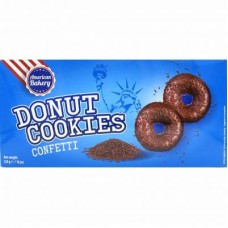AMERICAN BAKERY DONUT COOKIES CONFETTI 120g X 10