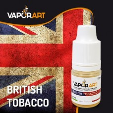 Vaporart 10ml - British Tobacco NIC 0