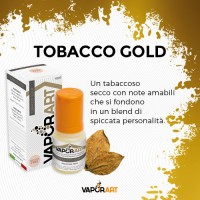 VAPORART TOBACCO GOLD 10ml NIC 8